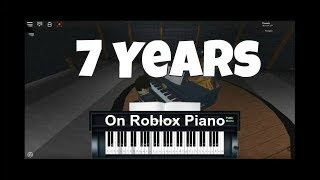 7 years on Roblox Piano