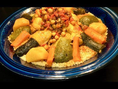couscous-À-la-marocaine-au-poulet-et-aux-lÉgumes