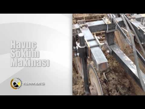 HAVUÇ SÖKÜM MAKİNASI KENMAKS /CARROT HARVESTER MACHİNE