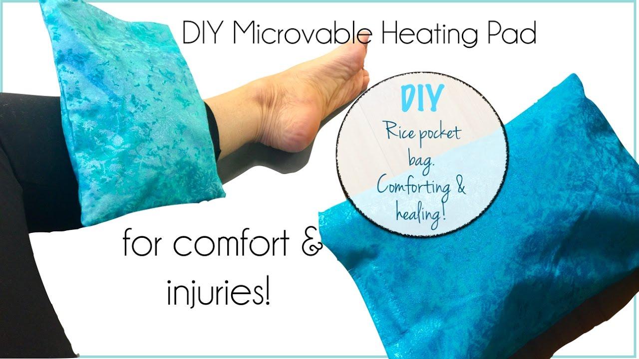 Diy Microwaveable Heating Pad You