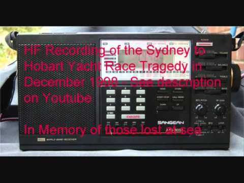 Sydney to Hobart Yacht race HF recording1998
