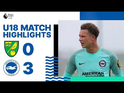 MU18 PL Cup Goals: Norwich 0 Albion 3