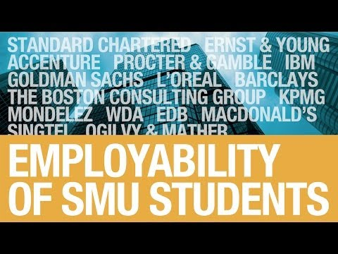 SMU Graduates - Strong Employment Record