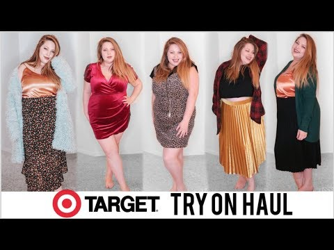 TARGET PLUS SIZE TRY ON HAUL | Wild Fable, A New Day | Winter 2019