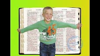 БИБЛЕЙСКИЕ ИГРЫ ДЛЯ ДЕТЕЙ. ИГРА
