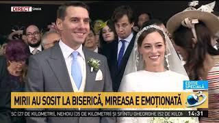 Momente emoționante la nunta nepotului Regelui Mihai