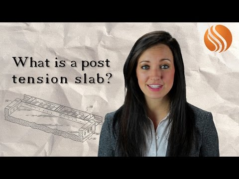 Tulsa Home Builders (918) 688-5660 | What is a post tension slab?