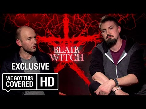 Exclusive Interview: Adam Wingard and Simon Barrett Talk Blair Witch [HD]