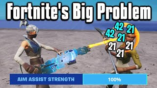We Need To Talk About Aim Assist In Fortnite...