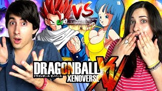 vuclip LE MOD di XENOVERSE 1: GIOSEPH vs FRANCESCA Dragon Ball Xenoverse Gameplay ITA