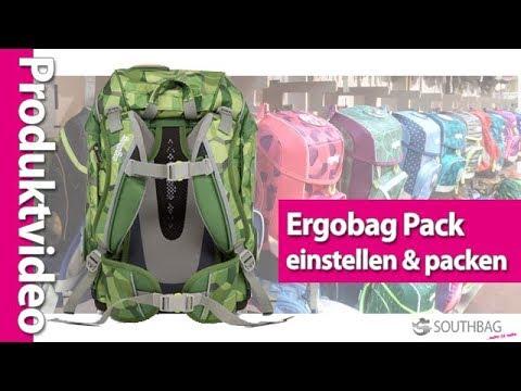 c6d4ba548a477 Ergobag Pack Schulranzen - richtig einstellen und bepacken - YouTube
