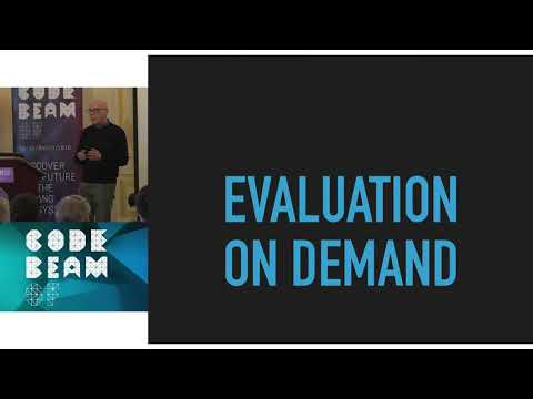 Simon Thompson - Making It Lazy  Never Evaluate Anything More Than Once - Code BEAM SF 2018