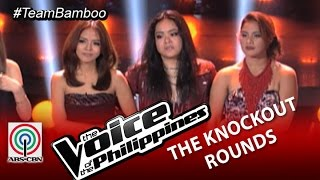 Team Bamboo Knockout Rounds Decision: Lougee, Arnee, and Tanya (Season 2)