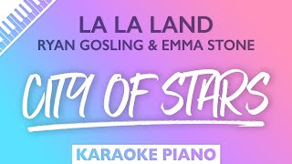 La La Land - City Of Stars (Karaoke Piano)