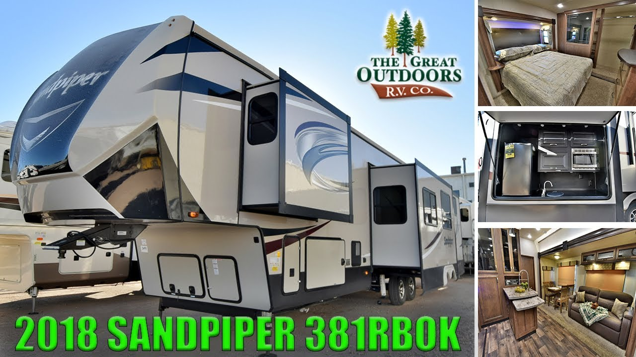 Sandpiper Luxury Fifth Wheel 2 Bedroom