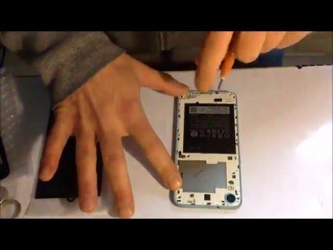 HTC desire 626g cambio batteria replace broken battery