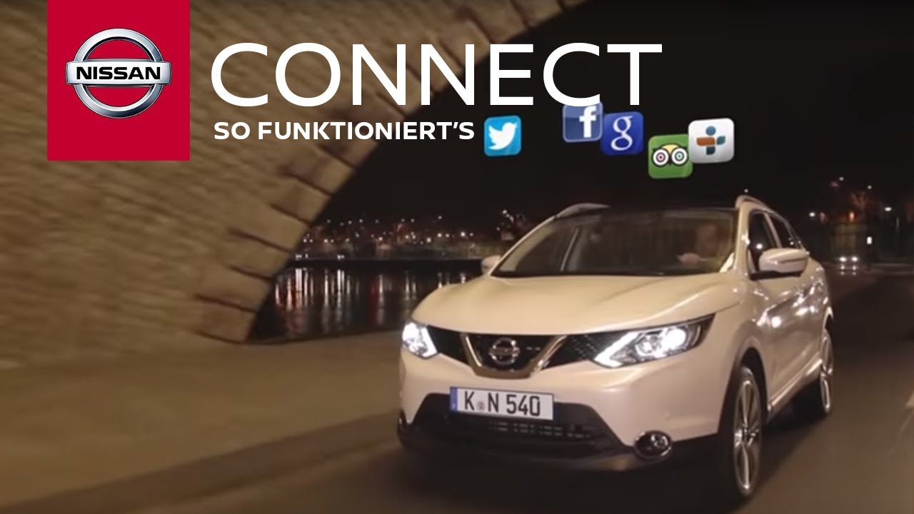 NissanConnect – So funktioniert's