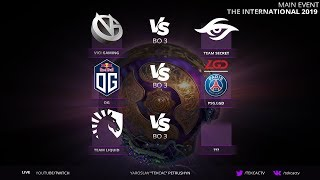 (RU LIVE) PSG.LGD vs OG █ THE INTERNATIONAL 2019 DOTA 2