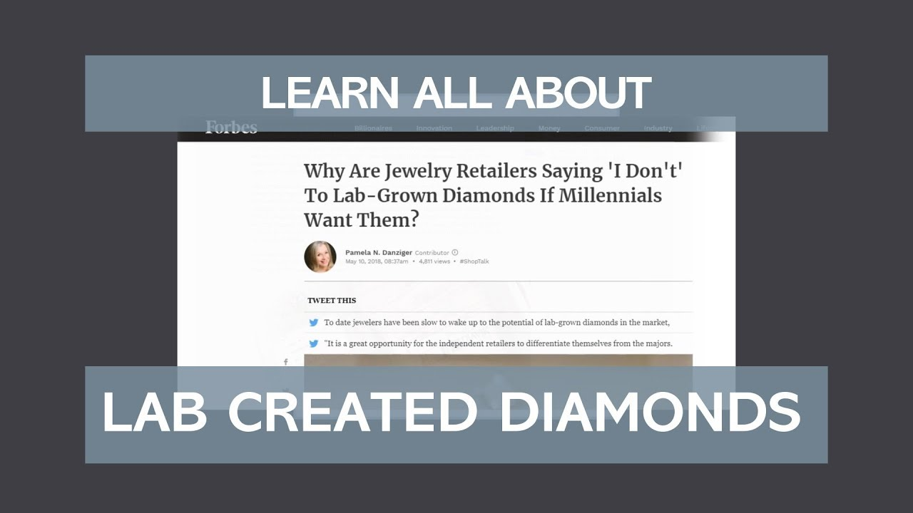Why Lab-Created Man-Made Diamonds Aren't Cheaper!