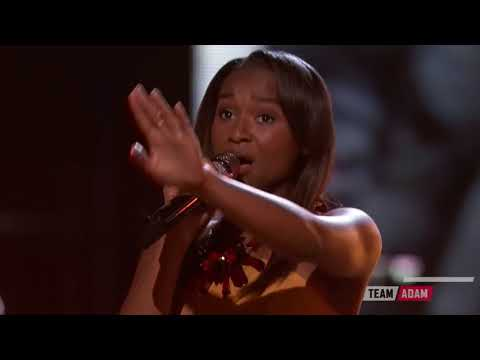 The Voice 2016 Shalyah Fearing   Top 12 Up to the Mountain