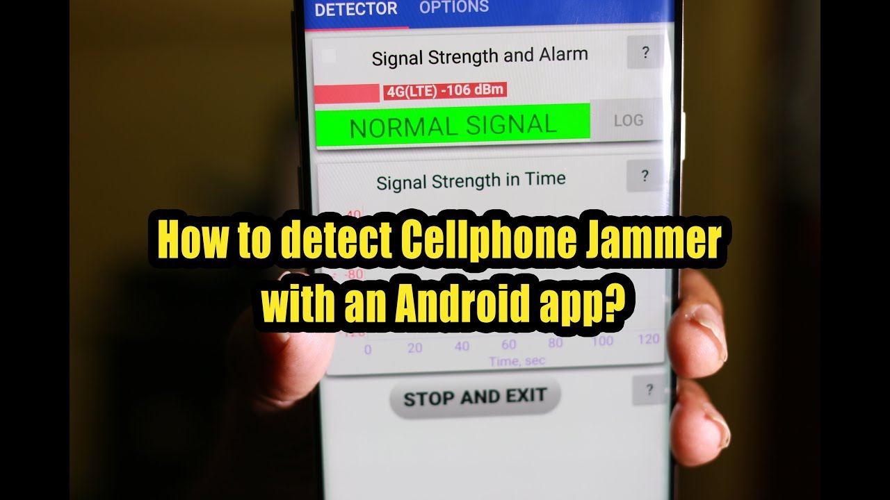 How to detect Cellphone Jammers with an Android app?