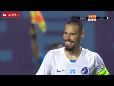 Dalian Pro 4 - 0 Henan Jianye   Goals and Highlights (Rondon, Hamsik, and Larsson)   03/09/20