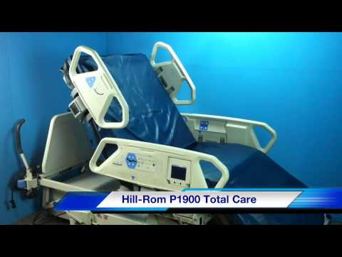 Hill-Rom P1900 Total Care Electric Air Hospital Bed