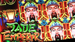 JADE EMPEROR | Ainsworth *NEW GAME* Quad Shot Slot Machine Bonus