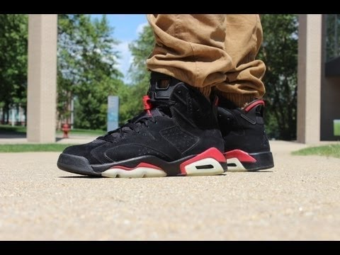 How To Clean/Restore Infrared 6s Suede