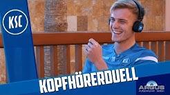 KSC-Kopfhörerduell mit Kobald & Groiß
