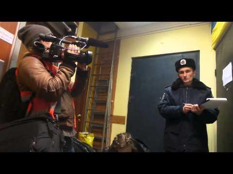 СБУ отрубила   прямое включения ТВ  перед зачисткой Майдана!