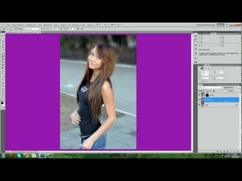 размыть фон в фотошопе онлайн зависимости