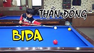 Những thần đồng bida nhí Hàn Quốc - Teen Korean billiards prodigy