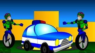 Мультик про машину и роботов. Мультик - конструктор. Роботы собирают полицейскую машину(Мультик про машину и роботов. Мультик конструктор. Музыкальный мультик для детей, в котором роботы собирают..., 2014-11-09T20:42:56.000Z)