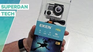EKEN H6s Action Camera | Unboxing and full review