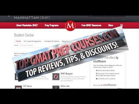 Tutorial - Manhattan GMAT Prep Course Online Dashboard