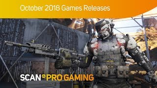 Scan Pro Gaming October 2018 Games Releases