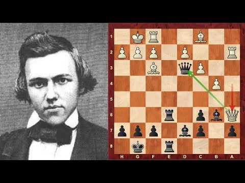 Chess Strategy: The Evolution of Chess Style #18 - Paul Morphy's game vs Louis Paulsen