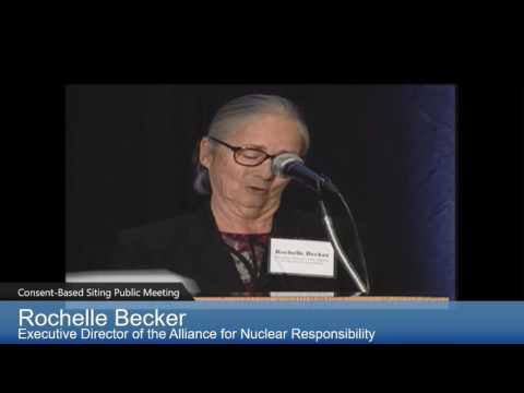 April 26, 2016: Rochelle Becker speaks at DOE Waste Symposium, Sacramento