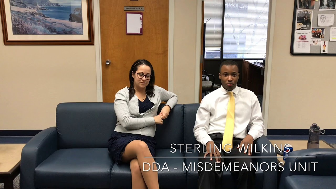 Deputy District Attorneys Sylvia La Rosa and Sterling Wilkins on why they  became prosecutors