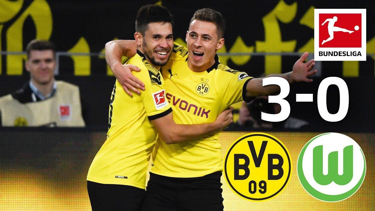 Download Hazard, Götze & Guerreiro Score for BVB I Borussia Dortmund vs. VfL Wolfsburg I 3-0 I Highlights