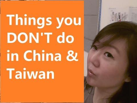 Things you DONT do in Taiwan, China, Hong Kong | CheeseonRice #6
