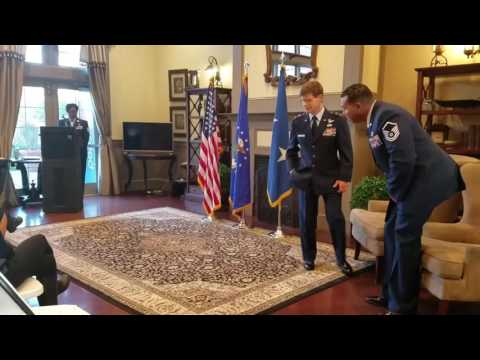 Master Sergeant David M Armstrong - Retirement Ceremony