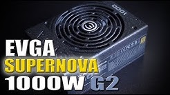 EVGA 1000 Supernova G2 PSU + Sleeved Cable Set