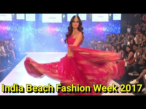 Kriti Sanon's one of the best ramp walk @ India Beach Fashion Week 2017. thumbnail