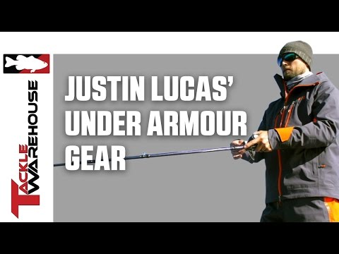 Justin Lucas Pro's Pointers Under Armour Gear
