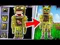 HOW TO BECOME SPRINGTRAP FROM FIVE NIGHTS AT FREDDY'S - Minecraft FNAF