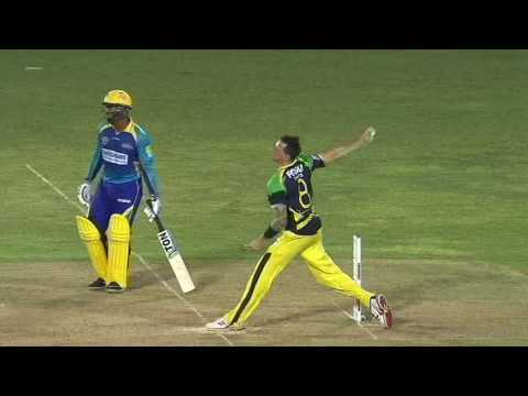 CPL 2016 highlights  - Jamaica Tallawahs v Barbados Tridents