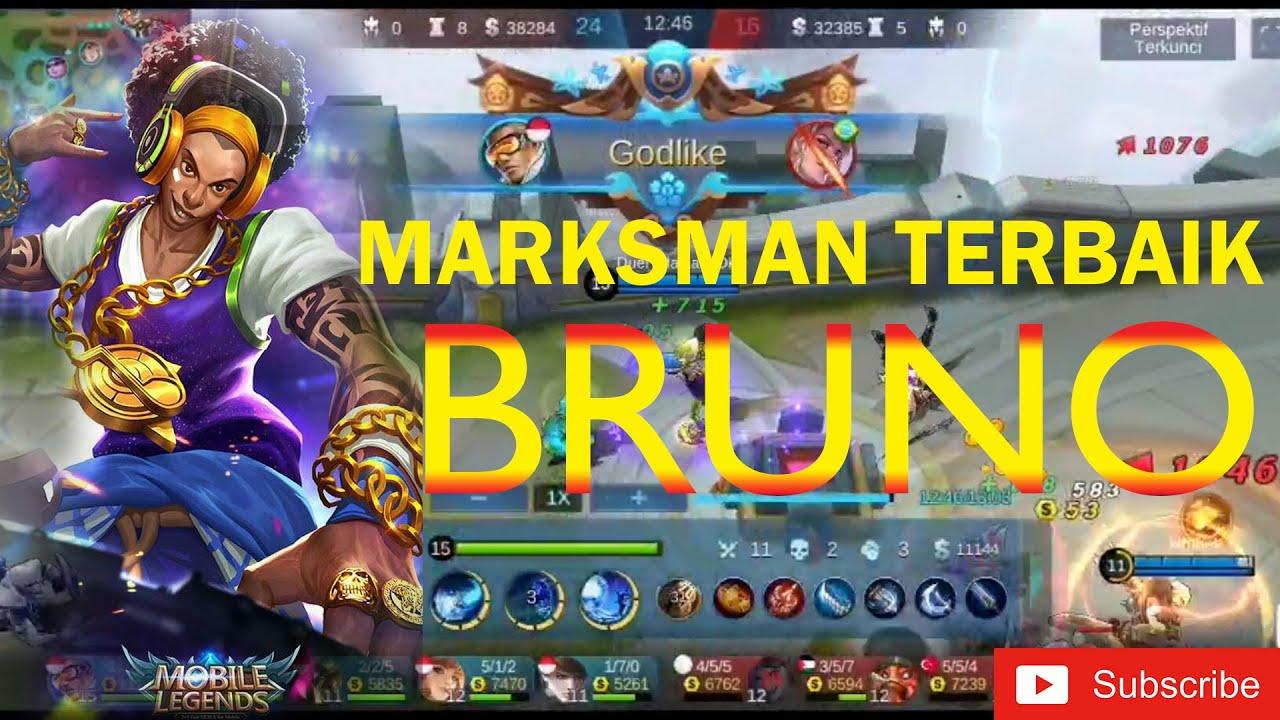 Marksman Terbaik Bruno Skin Best DJ