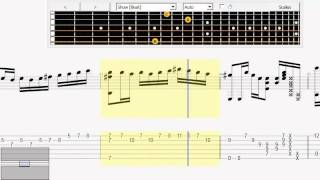 Guitar tab Carrying you - castle in the sky - Sungha Jung